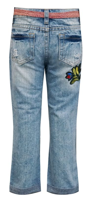 60% OFF Hannah Banana Embellished Denim Pants - product images  of