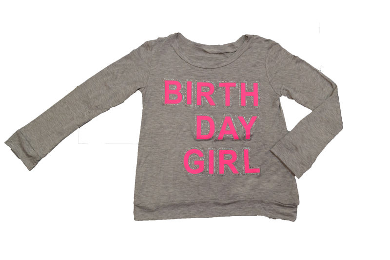 60% OFF Malibu Sugar Happy Birthday Girl Knit Top - product images  of