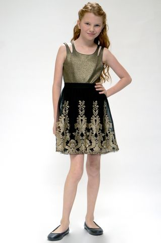 60%,OFF,Hannah,Banana,Black,Label,Gold,Embrodery,Tank,Dress,Sale 25% off|girls party dress|girls fashion|girls dress| tween dress|girls fashion|best friends kids boutique|hannah banana dress