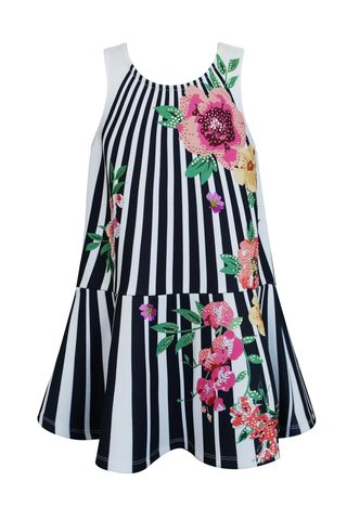 60%,OFF,Hannah,Banana,Floral,Stripe,Tank,Dress,hannah banana tween dress|girls dress|girls boutique dress| tween dress|best friends kids boutique|dresses
