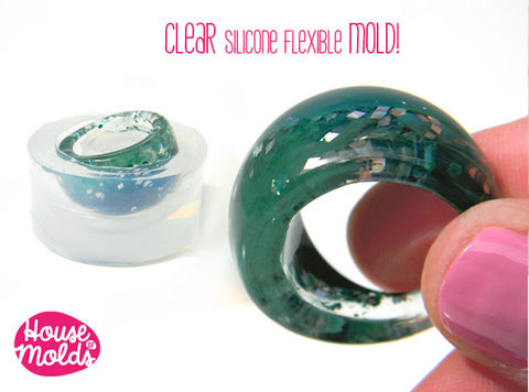 Bold,Modern,Ring,Clear,Mold,,,USA,Size,9,1/4,ring,mold,clear,mold,to,make,resin,rings,super,shiny,results!,Supplies,ring_mold,resin_mold,jewellery_mold,etsyitaliateam,diy_resin,resin_crafters,clear_silicone_mold,resin_ring,jewelry_making,ring_mould,resin_supplies,clear silicone