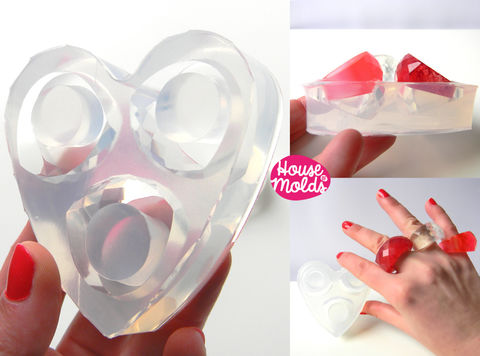 3,sizes,Wow,Bold,faceted,Clear,Mold,,Multi,Size,Rings,Mold,for,multifaceted,rings-house,of,molds,Supplies,mold,handmade,ring_mold,jewellery,resin_mold,jewellery_mold,silicone_rubber,resin_crafters,clear_silicone_mold,resin_ring,clear_resin,resin_ring_mold,heart,clear silicone