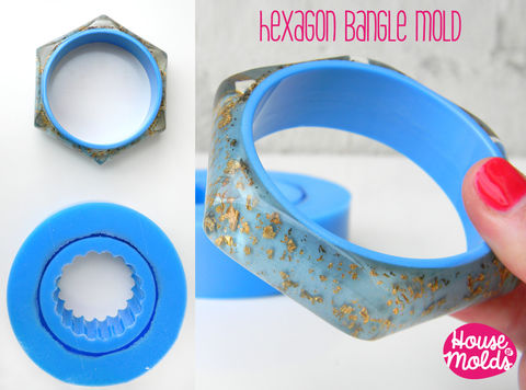 Hexagon,Smooth,Faceted,bangle,Mold,,flexible,silicone,mold,for,resin,inner,diameter,65,mm,-23,tall,Jewelry,Bracelet,silicone_mold,mold_for_bangle,bracelet_mold,etsyitaliateam,resin_supplies,flexible_mold,silicone_rubber_mold,resin_bracelet_mold,hexagon_bangle,hegaxon,resin_bangle_mold,bangle_mould,silicone rubber