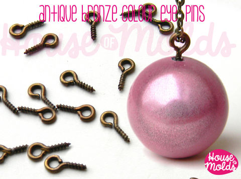 Antique,Bronze,Screw,Eyepins,9x3.5,mm-perfect,for,create,your,pendants,or,earrings!,Jewelry,Necklace,findings,bead_supplies,resin_crafters,pendant_chain,resin_chain,pendant_necklace,eyepin,beadcap,sphere_setting,steel_eyepin,eyepin_with_peg,sphere_eyepin,antique_bronze,Antique Bronze,Brass