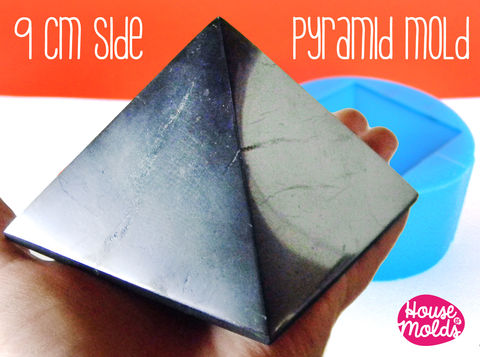 Pyramid,9,cm,x,side,,Mold,for,3D,Pyramid-HOUSE,OF,MOLDS-,Supplies,silicone_mold,clear_mold,mold_for_resin,resin_supplies,resin_molds__jewelry,pyramid_mold,molds_for_candles,mold_for_pyramid,orgone_pyramid,pyramid_resin,clear_mold_pyramid,mold_for_cardholder,concrete_mold,clear rubber