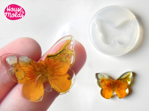 Flat,Butterfly,Clear,Mold,30,mm,x,22,,transparent,to,make,resin,earrings,or,pendants-very,shiny,surface,easy,use,Butterfly mold,resin Butterfly, Supplies,silicone_mold,clear_mold,mold_for_resin,resin_supplies,pendant_mold,drop_mold,clear_mold_drop,earrings_mold,resin_drop,resin_mold,decoration_mold,mold_maker,clear rubber
