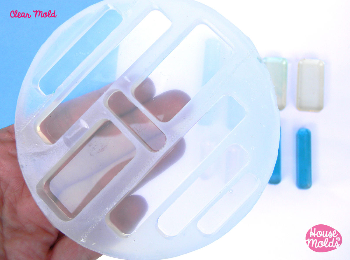 Rounded rectangles clear mold 4 sizes transparent mold to make rounded rectangles clear mold 4 sizes transparent mold to make resin collier earrings single aloadofball Choice Image