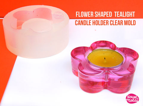 Flower,Shaped,Tea,Light,Candle,holder,Clear,Mold,-,candle,or,tiny,pot,for,plants,mold-72,mm,external,diameter,x,24,tall-super,glossy,resin,reproduction-,Resin molds_tea light candle holder_custom candle holder_tealight candle_resin candle holder_Supplies,silicone_mold,jewelry_making,clear_resin,resin_supplies,mold_for_pendant,clear_mold,mold_for_resin,mold_for_necklace,resin_mold,resin_drop_mold,drop_mold