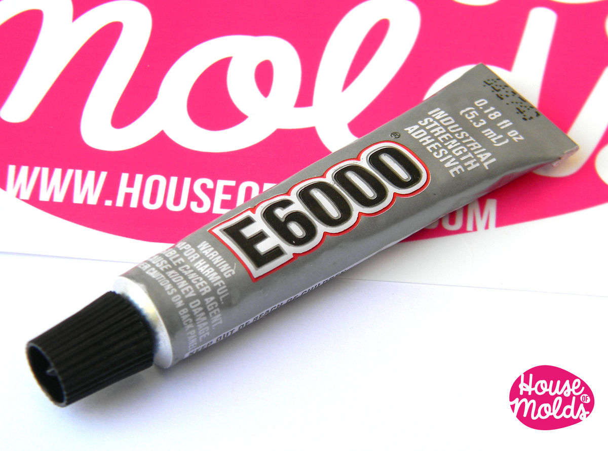 E6000 Clear Jewelry Glue 5.3 ml-mini tube-perfect for jewelry making flexible and strong - product images  of