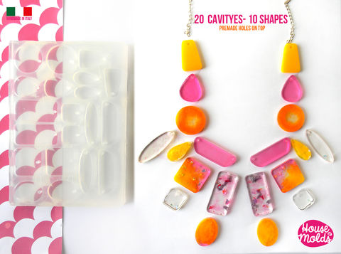 20,Cavityes,Multi,Shapes,Big,Clear,Mold,with,Pre,Made,Holes,on,Top,!,Transparent,to,make,10,different,shapes,squares,,,circles,trapezes,drops,and,more,creates,super,shiny,resin,many shapes mold,TRAPEZES MOLD,trapezes molds ,sqaure molds, circles molds , ovals molds, raindrop molds,teardrop molds ,glossy resinmod earrings mold_Supplies,silicone_mold,clear_mold,mold_for_resin,resin_supplies,pendant_mold,clear_mold_drop,earrings_mo