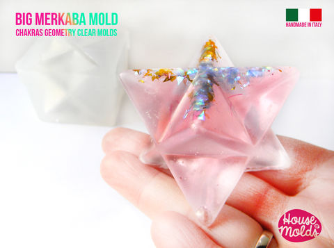 Big,6,6,cm,Merkaba,Clear,Silicone,Mold,-,HOUSE,OF,MOLDS-Chakra,geometry,1,big,,semi,matt,surface,Supplies,silicone_mold,jewelry_making,clear_resin,resin_supplies,mold_for_pendant,clear_mold,mold_for_resin,mold_for_necklace,resin_mold,resin_drop_mold,drop_mold,quartz_maker,prism_mold,clear silicone rubber,LOVE,HOUSE OF MOLDSChakra Geometry Solids,7 ch