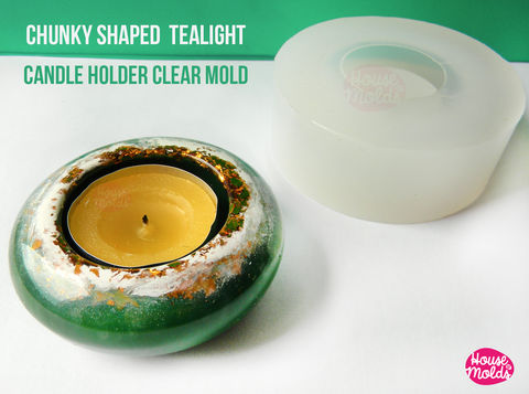 Chunky,Bold,Tea,Light,Candleholder,Clear,Mold,-,tiny,plant,vase,,ring,dish,mold-72,mm,diameter,x,27,tall-super,glossy,resin,reproduction,Resin molds_tea light candle holder_custom candle holder_tealight candle_resin candle holder_Supplies,silicone_mold,jewelry_making,clear_resin,resin_supplies,mold_for_pendant,clear_mold,mold_for_resin,mold_for_necklace,resin_mold,resin_drop_mold,drop_mold
