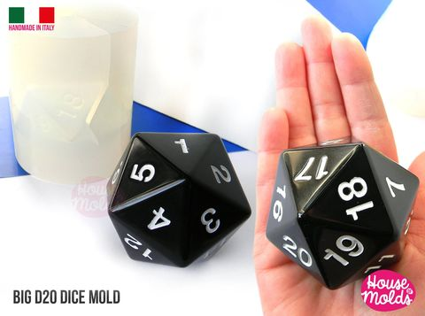 D20,Big,Dice,Mold,5,x,6,cm,Clear,Silicone,Molds,-,HOUSE,OF,MOLDS-1,Role,Play,dice,mold,with,number,engraved,,super,shiny,surface,big d20 ,role play dices,d20,d&d custom dices,resin dices,gamer dices,Supplies,silicone_mold,jewelry_making,clear_resin,resin_supplies,mold_for_pendant,clear_mold,mold_for_resin,mold_for_necklace,resin_mold,resin_drop_mold,drop_mold,quartz_maker,prism_mol
