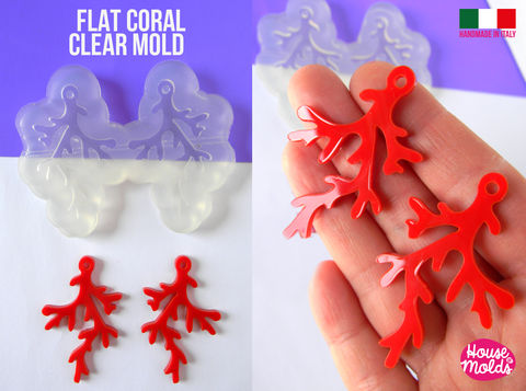 Flat,Coral,earrings,Clear,Mold,,Premade,Holes,,very,easy,to,use,Transparent,Silicone,,,super,shiny,-,house,of,molds,Flat Coral earrings Clear Mold_earrings Clear Mold, Dangle earrings mold , coral_earrings ,house_of_mold_earring_moon_earrings_mold, sixties_style_mold , mod earrings mold_Supplies,silicone_mold,clear_mold,mold_for_resin,resin_supplies,pendant_mold,cle