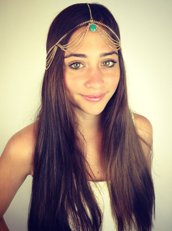 CHAIN HEADPIECE/ HEAD CHAIN - product images  of
