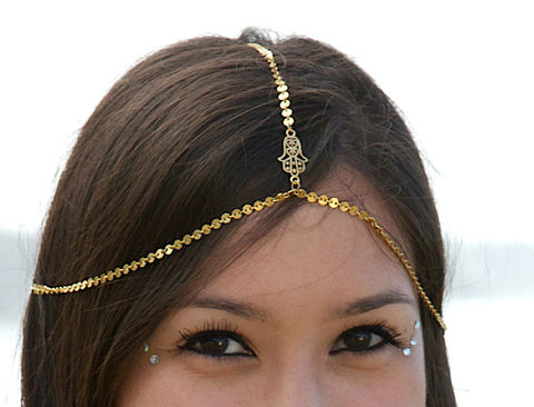 HAMSA,HEADCHAIN.,chain,headpiece.,head,chain.,hand,of,fatima,Accessories,Hair,zen,yoga,yoga_jewelry,jewelry,hair_accessories,head_chain,chain_headdress,chain_head_piece,hamsa,middle_eastern,om,gypsy,hippie_head_piece,steel brass plated chain,hamsa charm,lobster clasps