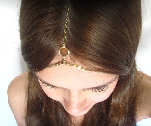 CHAIN,HEADPIECE-,chain,headdress,head,Accessories,Hair,chain_headdress,hair_piece,boho,chain_headband,chain_head_piece,gypsy,hippie,kim_kardashian,wedding,bridal_headpiece,jewelry