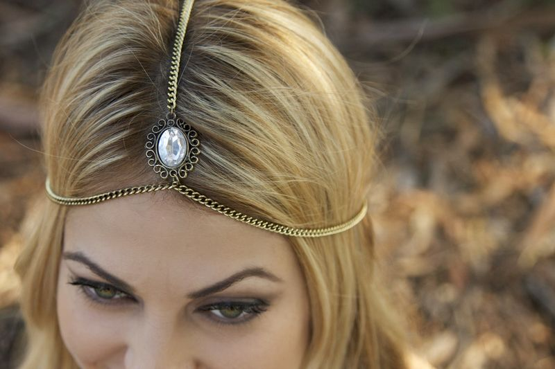 crystal headchain - product images  of
