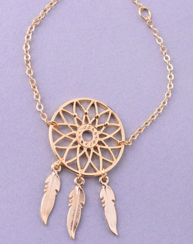 Dream Catcher and Feather bracelet - product images  of