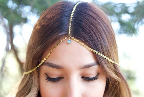 CHAIN,HEADPIECE-,head,chain,headdress,with,black,swarvoski,embelishment,Accessories,Hair,chain_headdress,hair_piece,chain_hair,belly_dance,chain_headband,headband,chain_head_piece,gypsy,hippie,wedding,head_chain