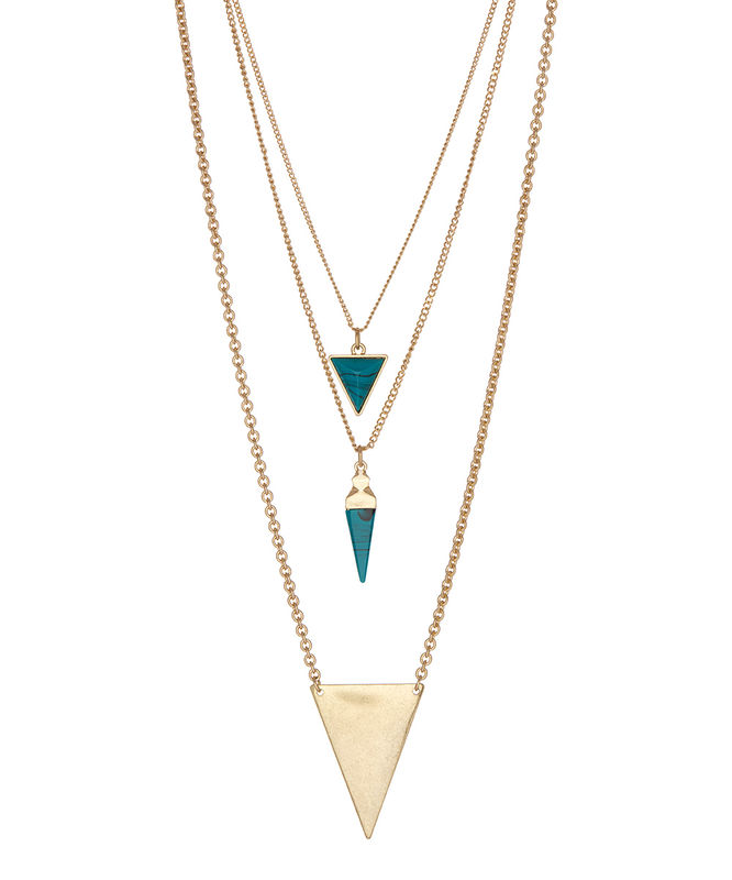 Triple Triangle necklace - product images  of
