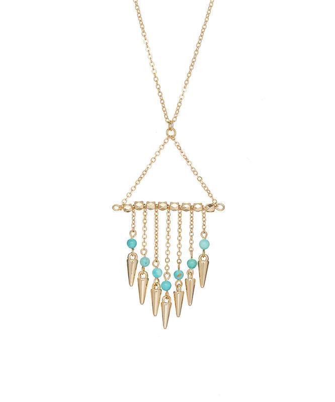 Spike Tassel necklace - product images  of