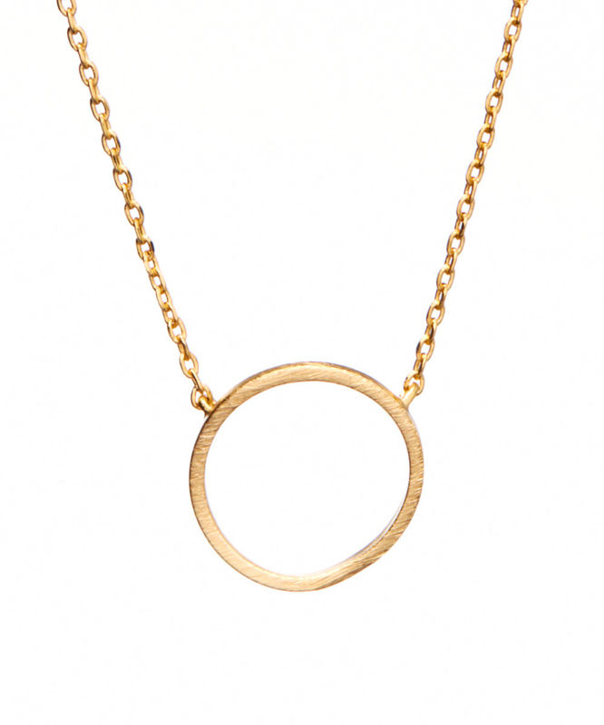 Minimalist Circle necklace - product images  of