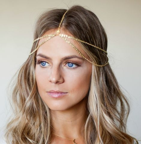 CHAIN,HEADPIECE/,HEAD,double,chain,headpiece,Accessories,Hair,chain_headdress,hair_piece,chain_headband,headband,chain_head_piece,gypsy,headdress,hippie,wedding,bride_hair_piece,crystal,great_gatsby,hippie_headband,swarvoski