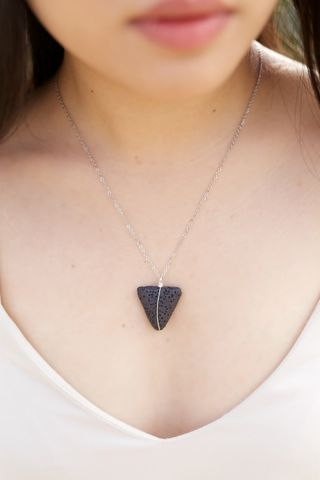 LAVA,rock,jewelry,-,Essential,oil,diffuser,necklace,Triangle,geometric, triangle necklace, triangle, necklace, bracelet, jewelry, jewellery, essential oils, essential oil diffuser, aromatherapy, aromatherapy jewelry, diffuser jewelry, lava, lavarocks, lavaessentials, lava jewelry, yoga jewelry, yoga, essential oil