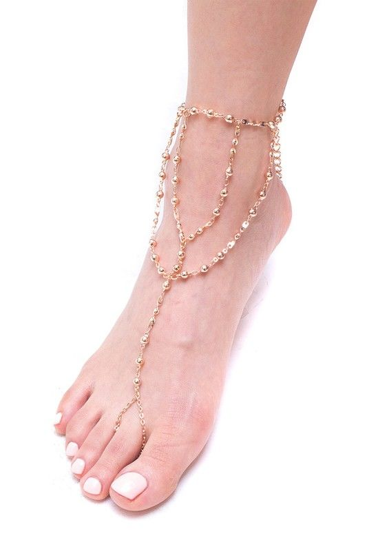 Laguna- barefoot anklet sandal - product images  of