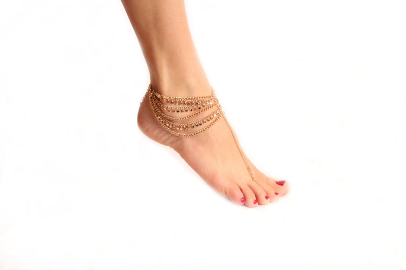 St. Tropez barefoot anklet sandal - product images  of