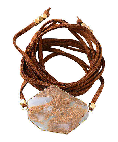 leather wrap bracelet - product images  of
