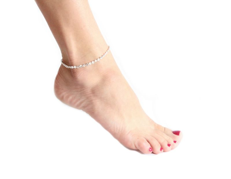BAHAMA MAMA ANKLET- available in gold or silver - product images  of