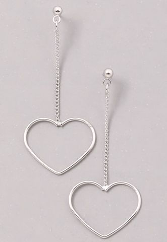 Heart,earrings, Valentine's Day, love, earrings