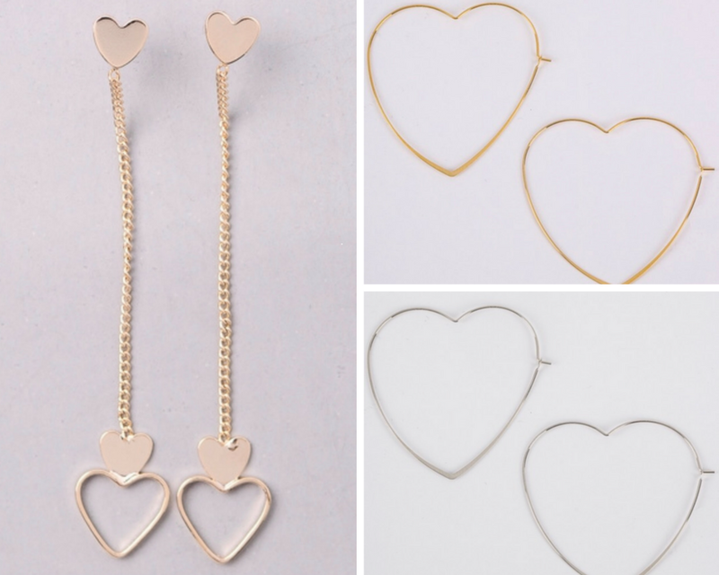 Heart earrings  - product images  of