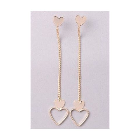 Long,heart,earrings,Heart, Valentine's Day, love, earrings