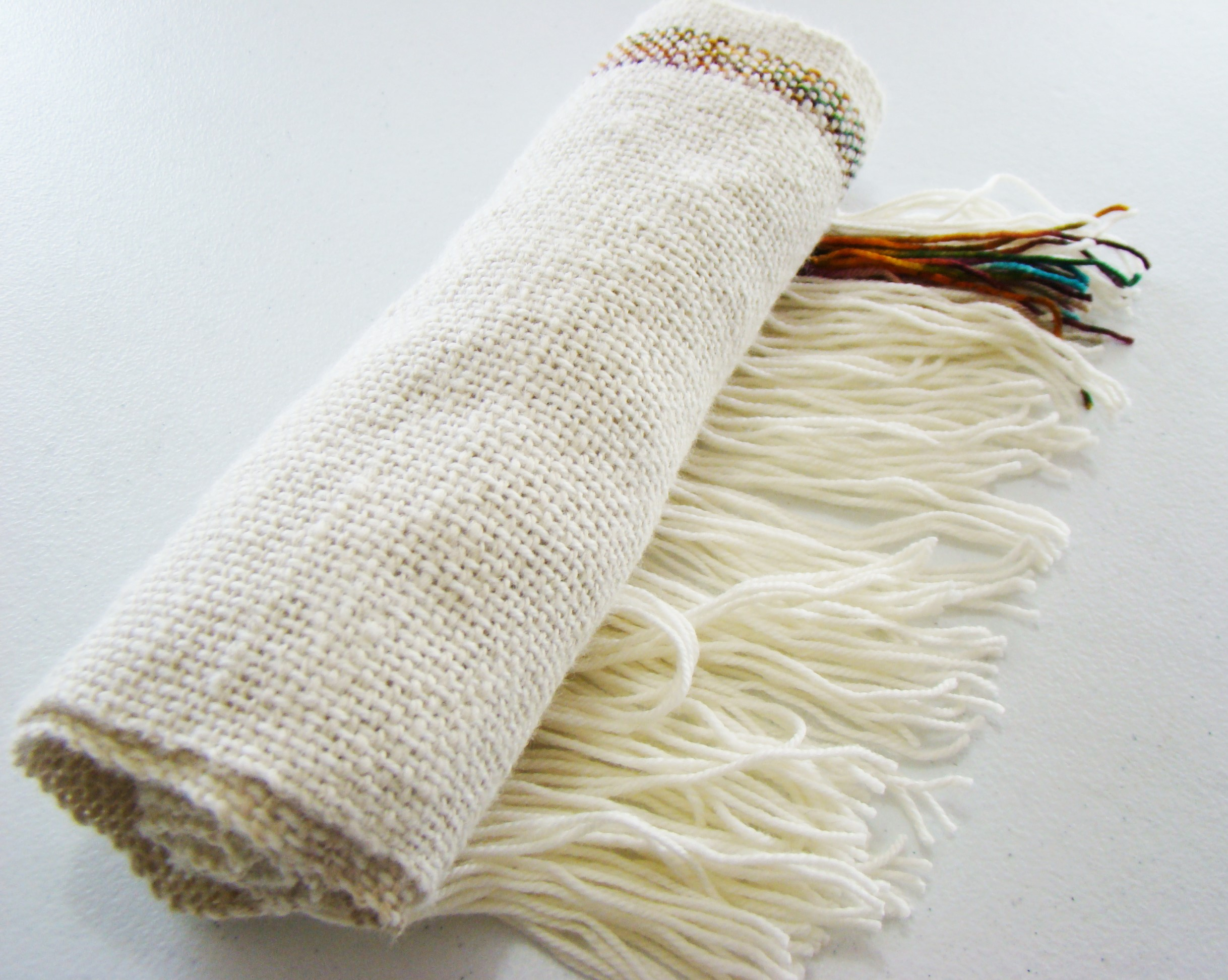 Sadie and Blossom Alpaca Woven Scarf