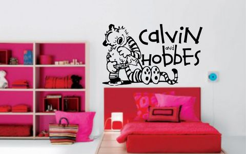CALVIN,and,HOBBES,|,hug,CALVIN and HOBBES, CALVINandHOBBES, CALVIN & HOBBES, Bill Watterson, stickyedge, stickyedge.co.uk