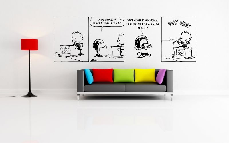 CALVIN and HOBBES | INSURANCE - product images  of