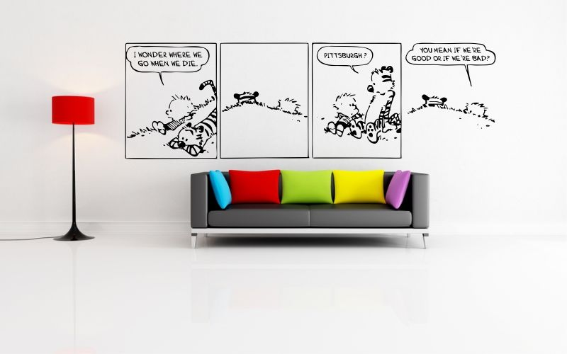 CALVIN and HOBBES | WHEN WE DIE - product images  of