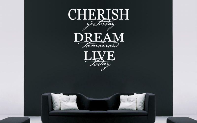 CHERISH YESTERDAY DREAM TOMORROW LIVE TODAY - product images  of