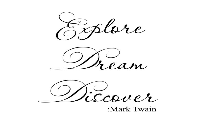 EXPLORE DREAM DISCOVER | MARK TWAIN - product images  of