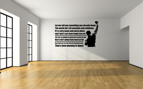 ROCKY,BALBOA,|,THAT'S,HOW,WINNING,IS,DONE,home, wall art, decor, family, vinyl, design, fun, love, stickyedge, stickyedge.co.uk, ROCKY, ROCKY BALBOA, CREED, SylvesterStallone, APOLLO CREED,