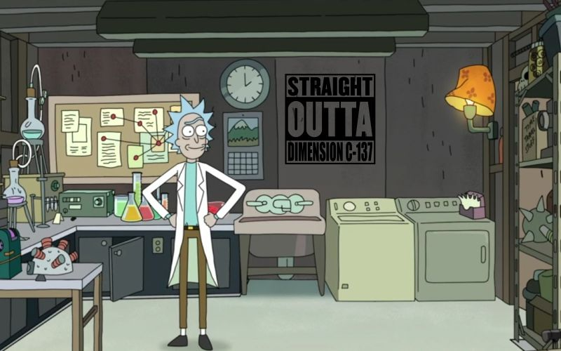 RICK AND MORTY | STRAIGHT OUTTA DIMENSION C-137 - product images  of