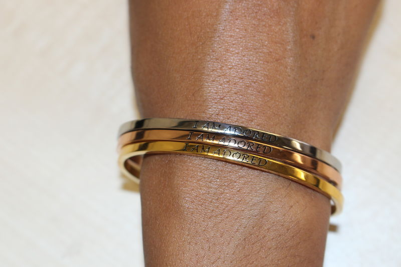 I Am Adored Bangles  - product images  of