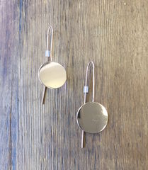 'I,am',Collection,Earrings, hanging earrings, circle earrings