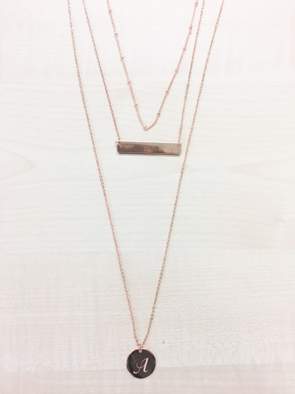 'I am' Collection Three Layered Necklace - product image