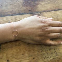 'I,am',Unique,Bracelet, adjustable bracelet, circle necklace