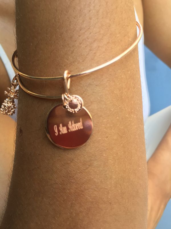 'I Am' Collection Personalised Bangle  - product images  of