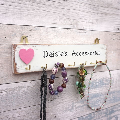 Personalised,Accessories,and,jewellery,hanger,Jewellery hanger - Accessory hanger - accessory display -  personalised hanger for jewellery - mothers day - Valentines day  - Christmas - storage for jewellery - jewelry storage